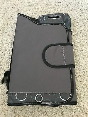 Travel Diaper Changing Pad, compact, New, All in one mat with pouch for diapers