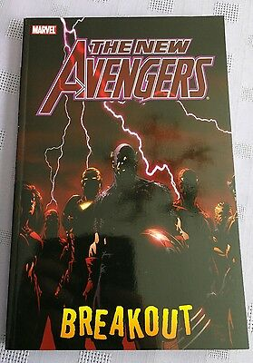 Marvel graphic novel The New Avengers vol.1 Breakout