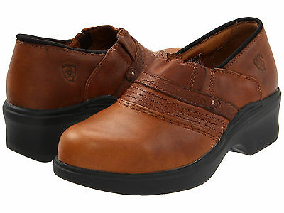 Ariat Women's Safety Clog Work Shoes #10002367-36120,Size 7.5