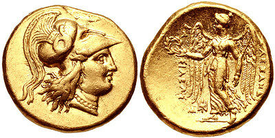 KINGS of MACEDON. Alexander III 'the Great'. 336-323 BC. AV Gold Stater