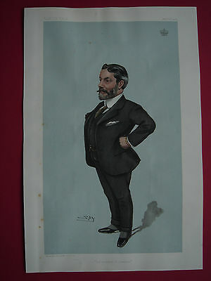 Original 1904 Vanity Fair Print of The Marquis of Northampton