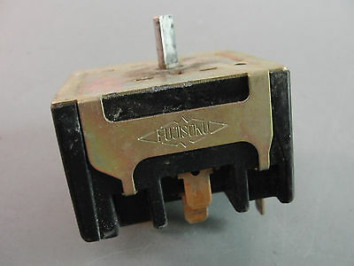 Fujisoku Dual Inline Position Switch 6 Position Sra647 6532 250V 8A Used Hvac