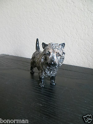 "Royal Doulton Cairn Terrier ""Charming Eyes"" Dog Figurine # HN 1035"