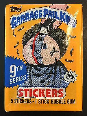 1987 Garbage Pail Kids 9th Series Unopened Pack, 1- ALL NEW-CANADA Wax Pack! TWT