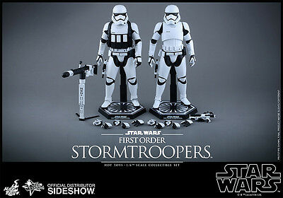 -= ] HOT TOYS - First Order Stormtroopers Set: Star Wars the Force Awakens  [ =-