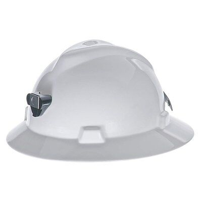MSA 460069 Hard Hat w/ Lamp Bracket and Cord Holder