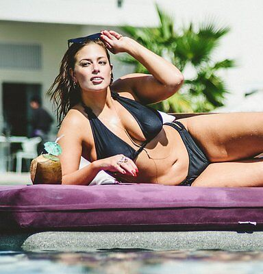 Ashley Graham In The Pool 8x10 Picture Celebrity Print