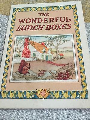 1925 Postum Post's Bran Flakes Little Book  Cereal Wondeful Lunch Boxes