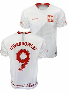 Polska Robert Lewandowski  9 Replica Polish Soccer Jersey Poland World Cup 350fd9ca8