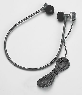 """VEC DH50S Transcription Headset with 3.5mm 1/8"""" connector mono headset"""