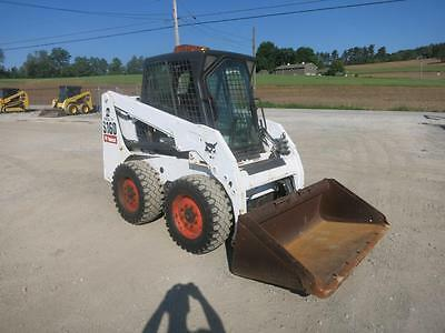 2011 Bobcat S 160 Skid Steer Loader, Cab & Heat, 1392 Hrs, 2 Speed, 56 HP Diesel