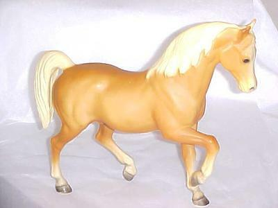 Vintage Breyer Model Palomino Stallion Horse Arabian From Older Collection