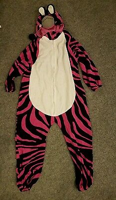 Pink And Black One Piece Pj Or Loungewear