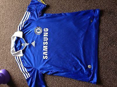 Adidas Official Chelsea 2008-09 Home Football Shirt Size Large