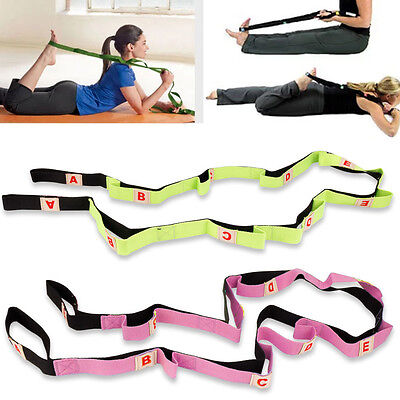 Fitness Yoga Pilates Stretching Strap Belt Physical Leg Trainers 73 * 1 Inch GG