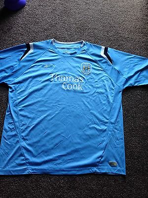 Reebok Official Manchester City 2004-05 Home Football Shirt Size 2xl