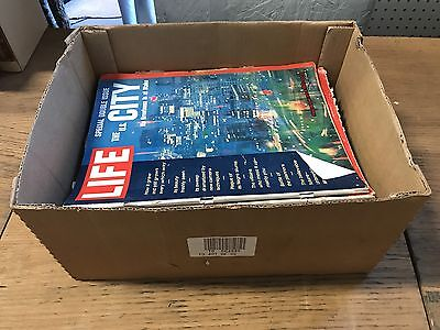 Box Of Life & Post Magazines From 1960s 34Pc Lot