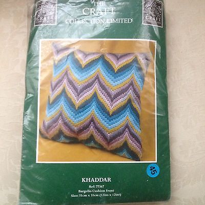 The Craft Collection Vintage 1970s Style Tapestry Cushion Kit