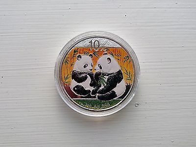 Silver Panda color 2009 1 oz (999 fine silver)