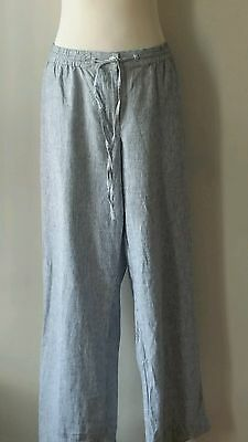 Talbots Casual Women's Pants Linen Cotton Plus Size 20W 2X New