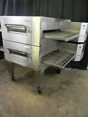 Lincoln Impinger Conveyor Double Stack Pizza Gas Oven 1600 **we Offer Financing*