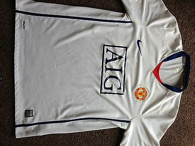Nike Official Manchester United 2008-09 Away Football Shirt Size Medium