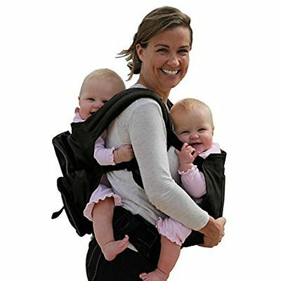 Soft Carriers Stuff 4 Multiples Twin Carrier, Twingaroo, Black