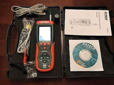 Extech Instruments HD500 Psychrometer + IR Thermometer