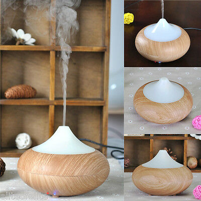 Electric Oil Essential Burner Aroma Diffuser LED Humidifier Air Purifier Lonizer
