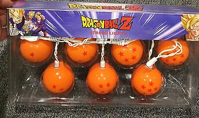 DRAGON BALL Z String Lights. Set Of 9. Brand New. GOKU-VEGETA