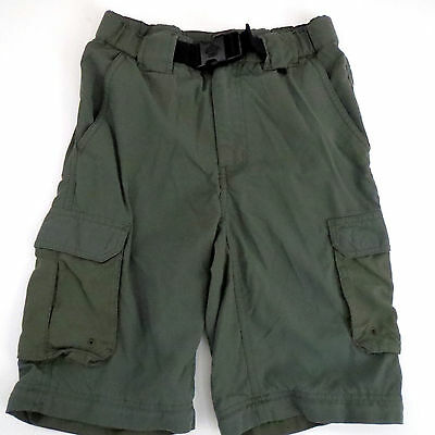 BOY SCOUTS OF AMERICA Youth L Uniform Shorts Cargo switchback BSA Green