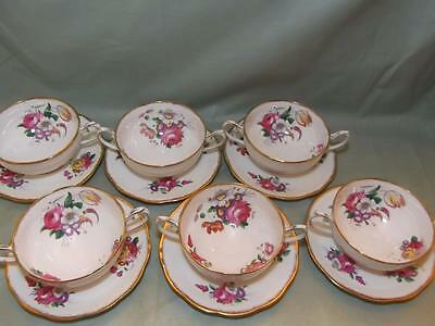 """ONE Royal Albert """"Lady Angela"""" Cream Soup Cup & Saucer Stand"""