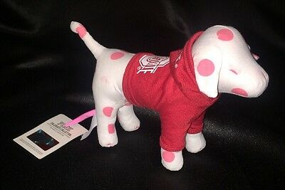 "Victoria's Secret 8"" Plush PINK DOG The Ohio State University OSU With Tags"