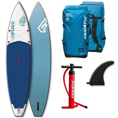 Fanatic Pure Air Touring inflatable SUP 11.6 Stand up Paddle Board 2017