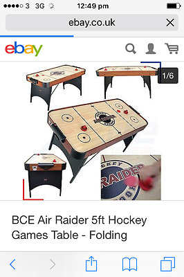 BCE Air Raider 5ft Hockey Games Table , used a couple of times