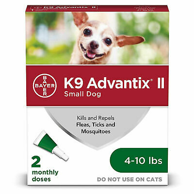 Advantage II For Medium Dogs 11-20 lbs, 1 Month Supply