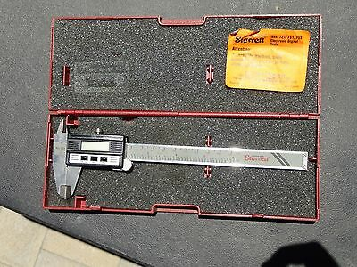 "Starrett SPC Plus EDP 65143 No. 721 6"" Digital Electronic Caliper With Case"