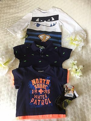 Lot Of Baby Boy T Shirt Size 6-9