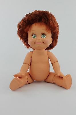 Vintage Baby Face 1990 Galoob Doll #9 So Shy Sherry Red hair Green Eyes