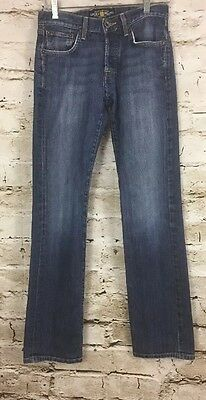 Men's Lucky Brand Buttons Fly 221 Slim Straight Jeans 28x32
