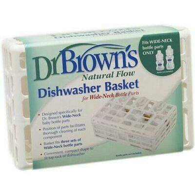 Dr Browns Baby Bottle Feeding Cleaning Sterilising Dishwasher Basket Gift Sale