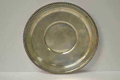 Art Deco Sterling P.S Co Serving Plate  c1920   204gr   9.5
