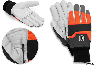 Genuine Husqvarna Protective Chainsaw Gloves Functional Padded Stihl Echo Glove