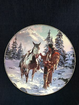 Hamilton Collection Morning Of Reckoning Collector Plate 1993