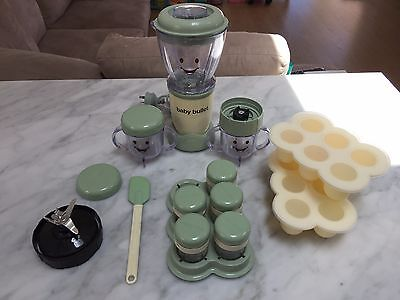 Baby Bullet - Baby blender and Baby food storage