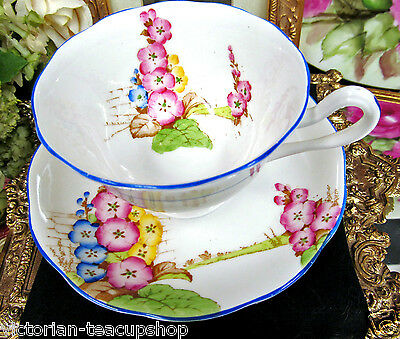 Royal Albert Tea Cup And Saucer Floral Painted Older Crown China Teacup