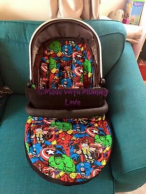 Marvel Universal Buggy Footmuff And Liner