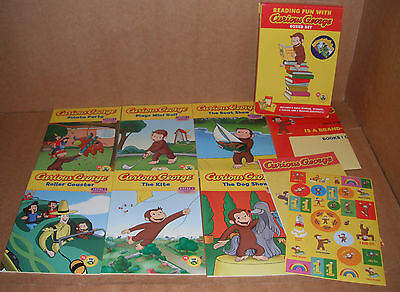 Lot of 6 Curious George Beginning Readers Books by H.A. Rey Paperback NEW
