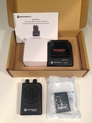 MOTOROLA MINITOR V 5 VHF HIGH BAND PAGERS 159-167 MHz  NON-STORED VOICE