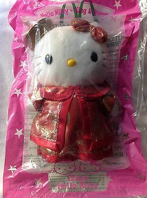 *NEW* HELLO KITTY plush toys 1999 McDonalds Chinese Costume Sanrio
